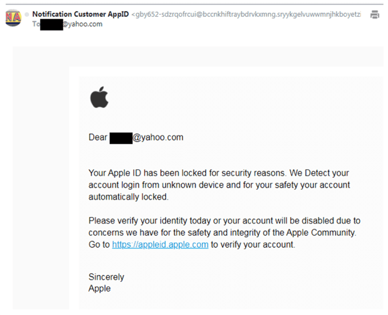 Phishing Screenshot 1